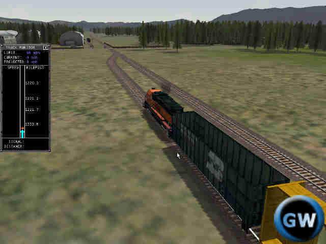ef744f502 Čo sa týka realističnosti riadenia lokomotívy nemám najmenšie výhrady. Ak  prekročíte povolenú rýchlosť - hádajte čo sa stane? No, na najbližšej  výhybke ...