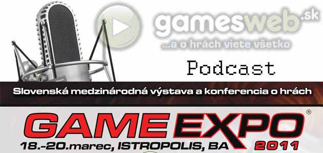 GamesWeb.sk podcast - verejný podcast Game Expo 2011